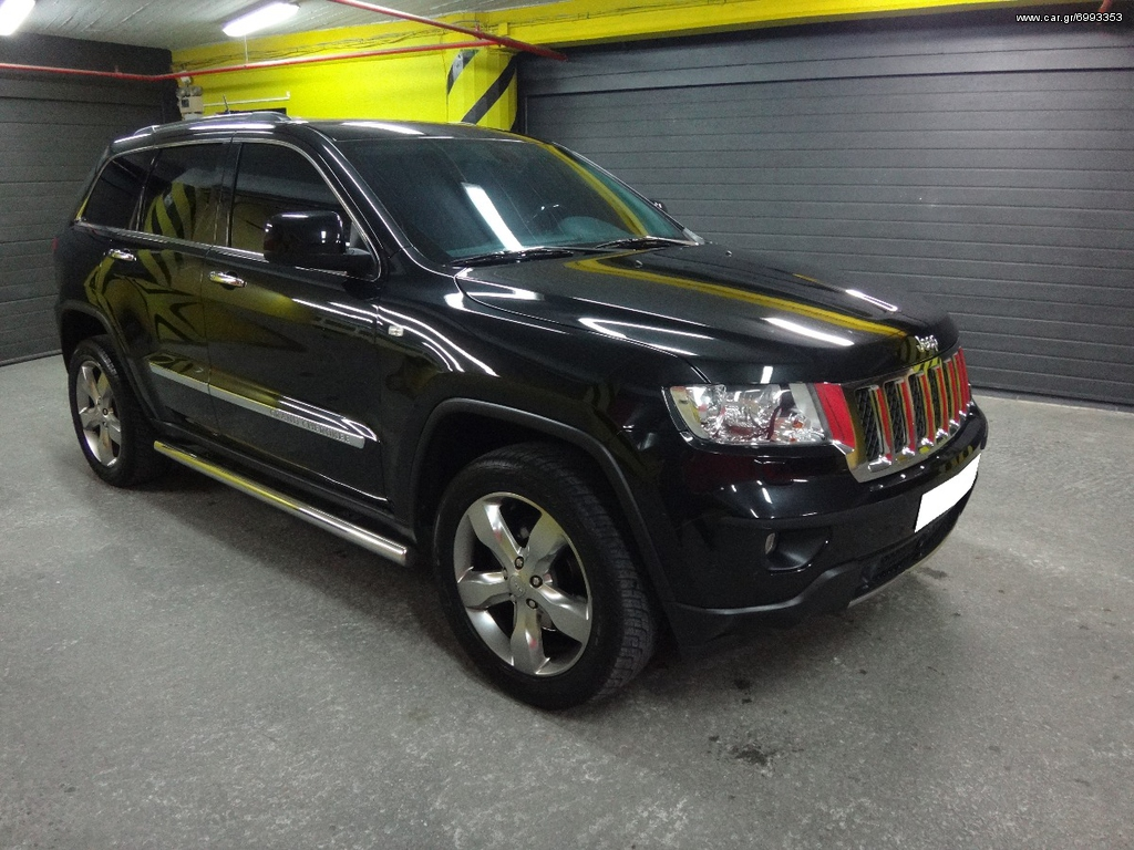 Jeep Grand Cherokee OVERLAND 3.0CRD