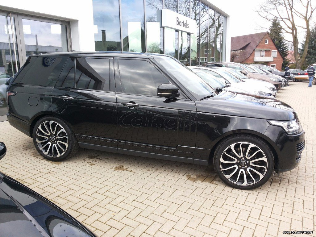 Land Rover Range Rover AUTOBIOGRAPHY BLACK EDITION '15